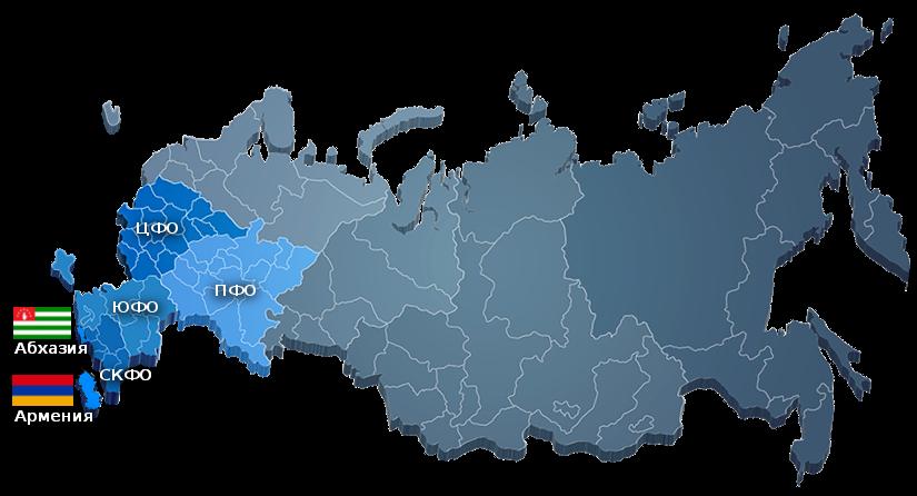 Карта Юг Минералз Metso